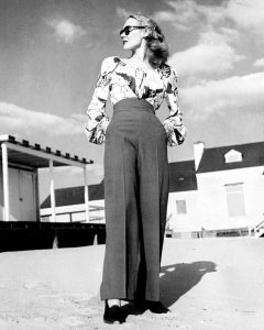Vintage high-waisted pants
