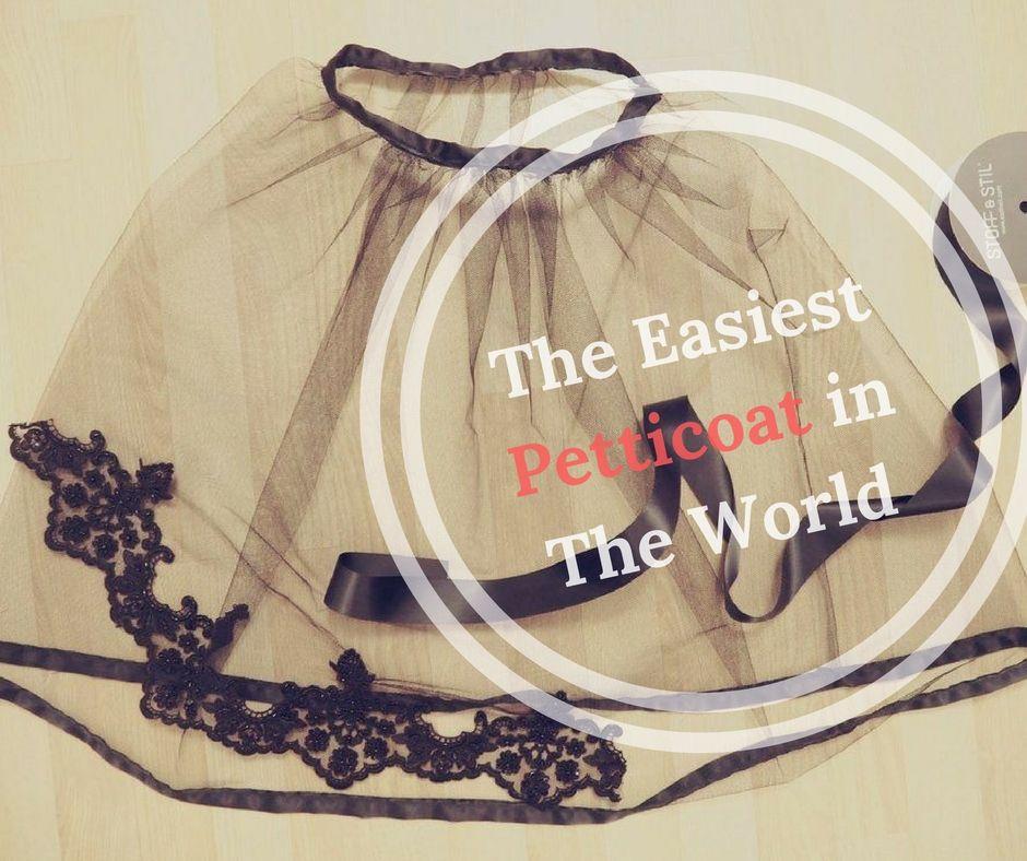 DIY Easy Petticoat