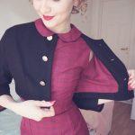vintage cropped jacket