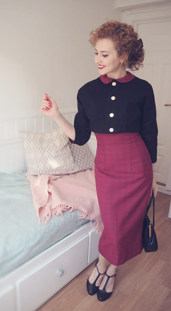 diy vintage cropped jacket