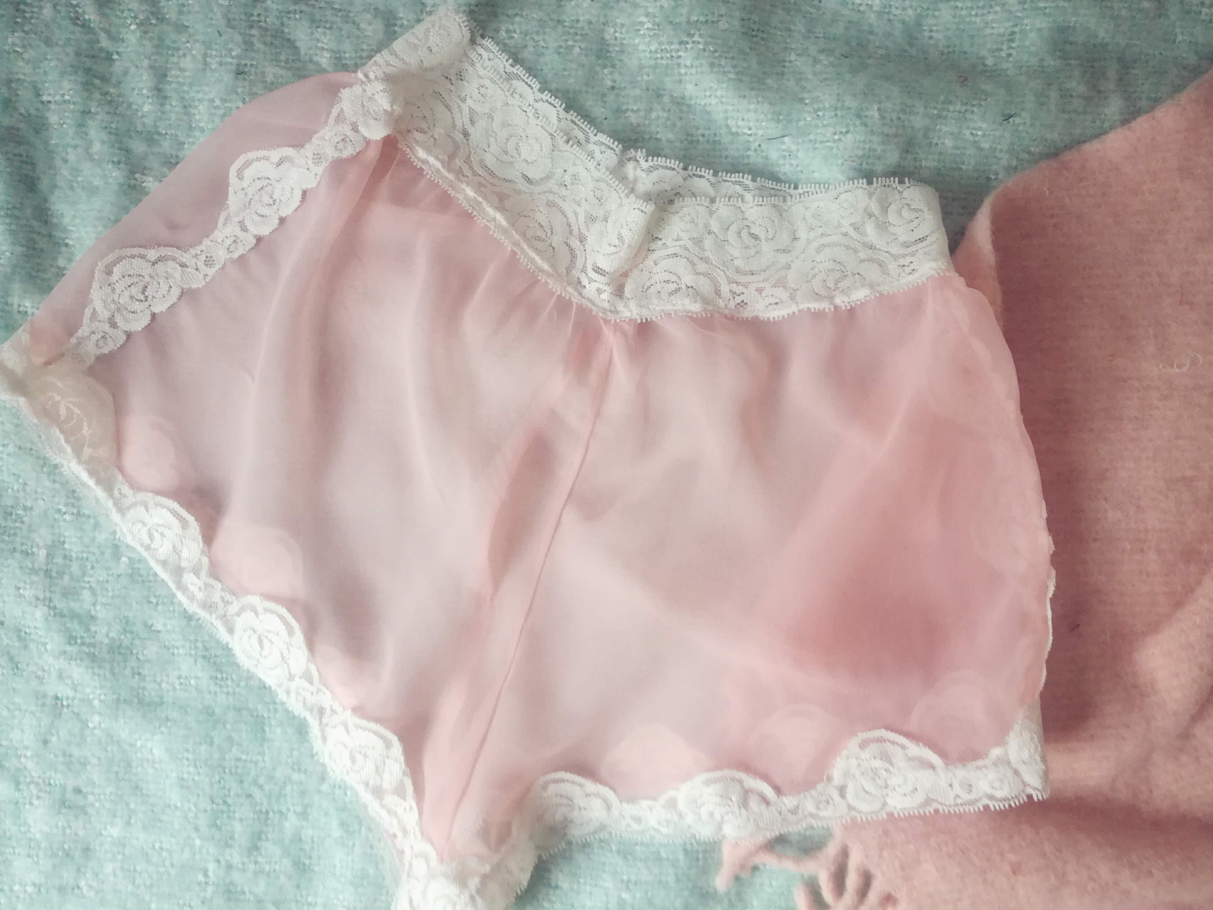 DIY Vintage Shorts Lingerie