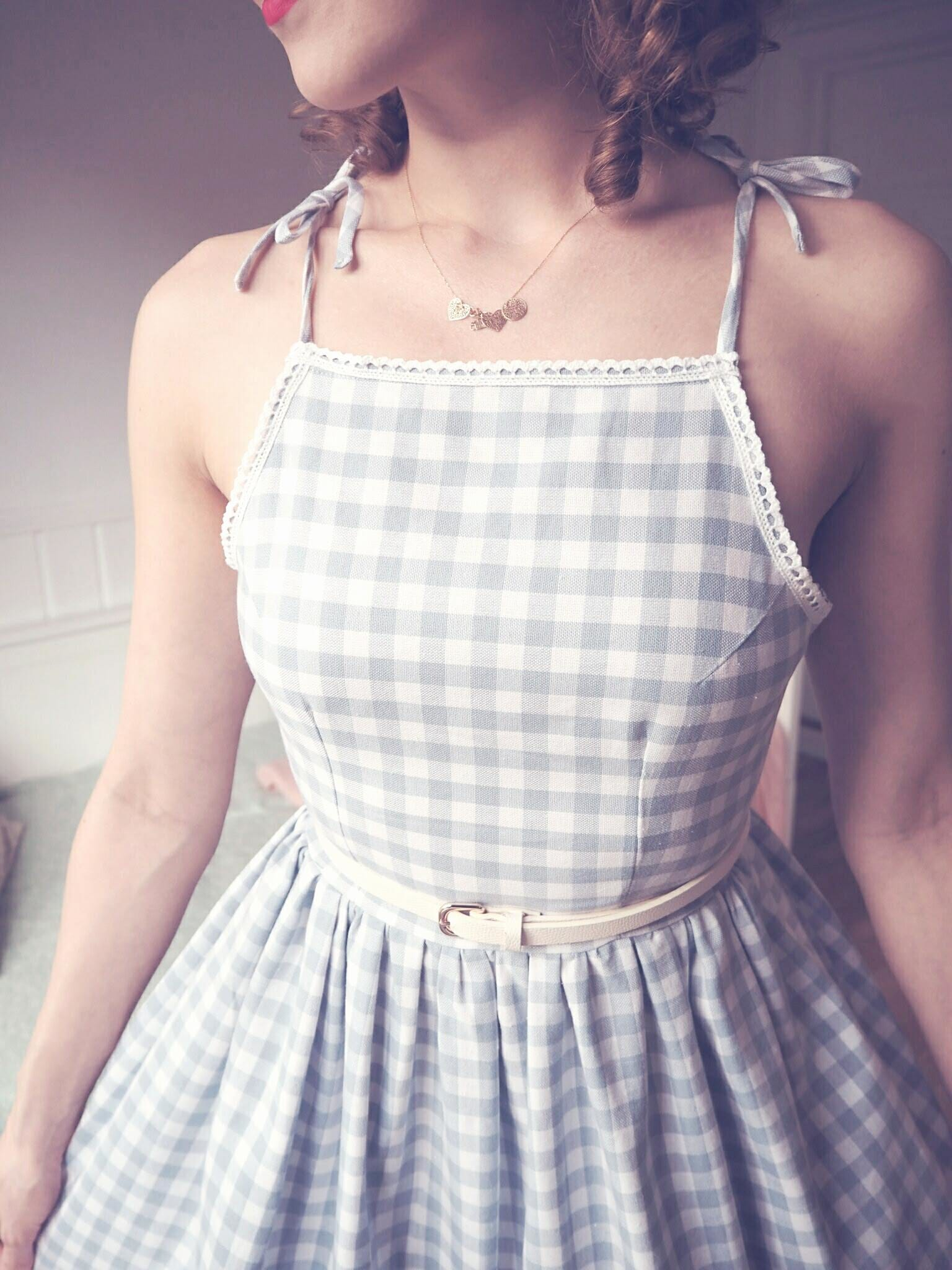 diy vintage summer dress